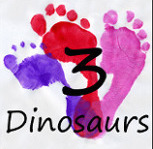 3 Dinosaurs - Free Printables, Crafts, etc.