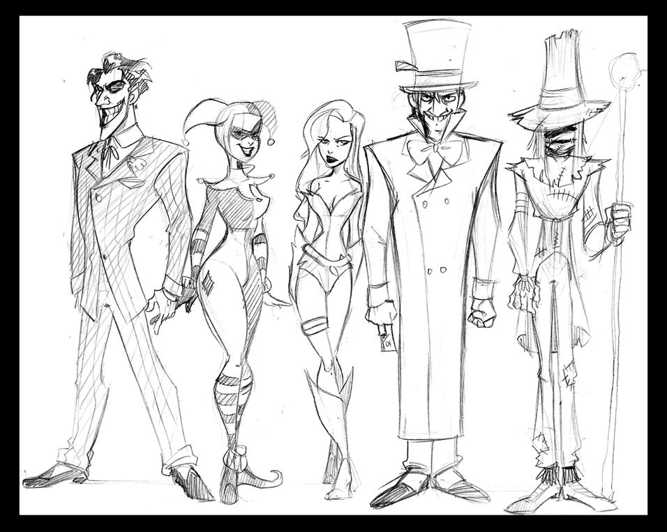batman villains coloring pages - batman image carousel 9