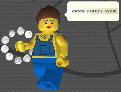Brick Stree View - LEGO Google Street View