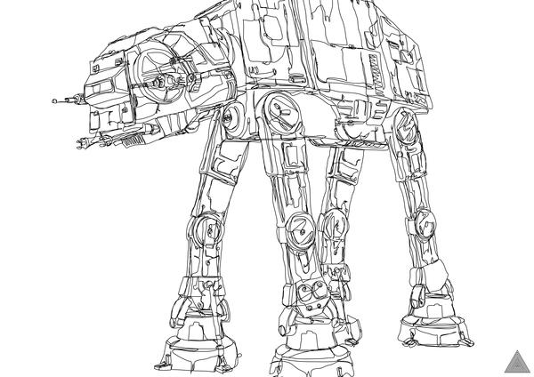 Line Drawing Star : Star wars image carousel xxvii