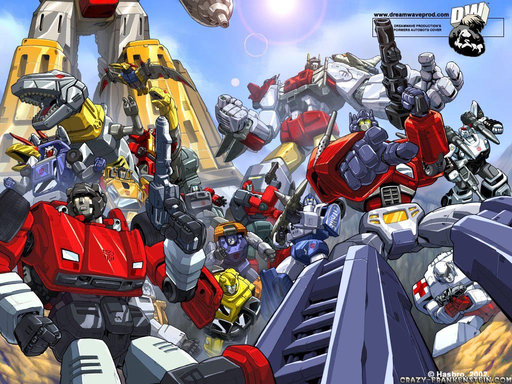 Autobots Transformers Cartoon Wallpapers