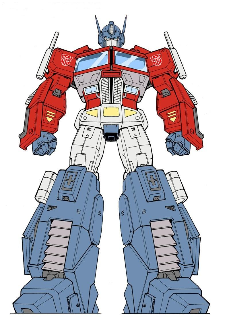Transformers image carousel 2 - Optimus prime dessin ...