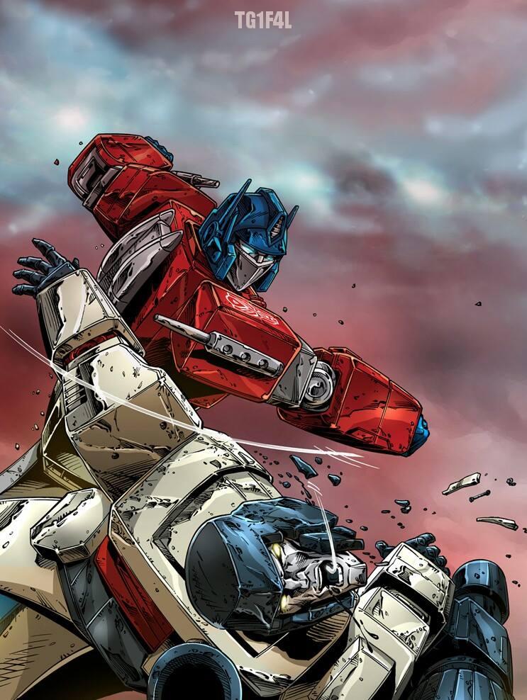 Transformers image carousel 7 - Transformers cartoon optimus prime vs megatron ...